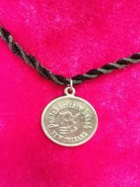 Ponchartrain Beach Black Cord Necklace
