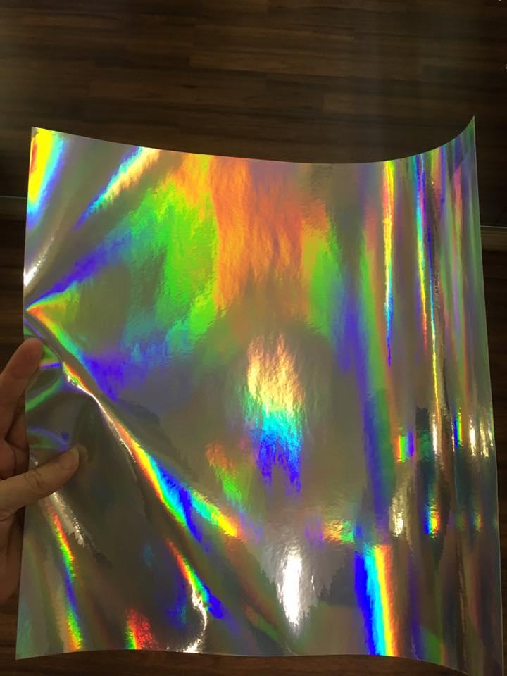 Oil Slick Vinyl 12x12 inch sheet