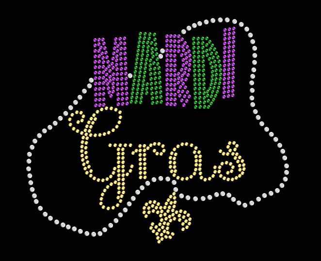 Mardi Gras with Beads Shirt