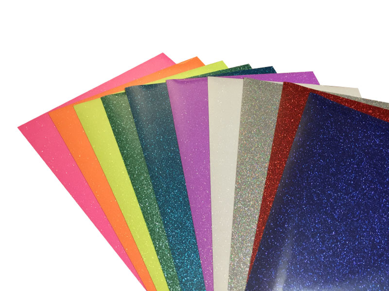 "Heat Transfer  Glitter Sheet- 12""x19"""