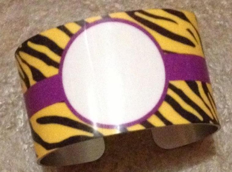 Cuff Bracelet - Tiger Stripe Blank