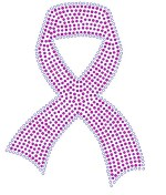 Large Breast Cancer Ribbon