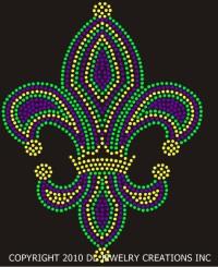 Carnival Fleur de Lis Shirt
