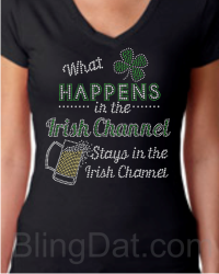What Happens in the Irish Channel Shirt