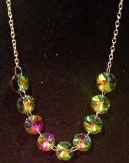 Mardi Gras Color Changing Crystal Jewelry
