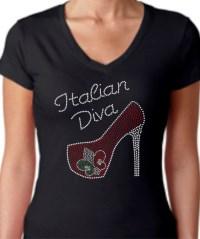 Italian Diva High Heel Shirt