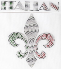 Italian Fleur de Lis Transfer
