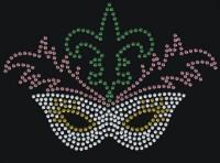 s4024 Fleur de Lis Mask Transfer