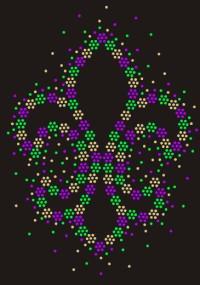 Mardi Gras Sparkle Shirt