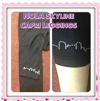 NOLA Skyline Leggins