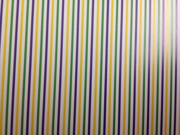 Mardi Gras HTV Stripes