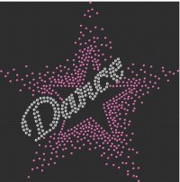 Dance Star Sequin Transfer