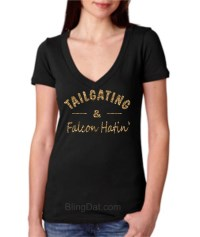 Tailgating and Falcon Hatin Shirt